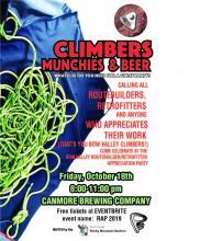 Climbers Appreciation Night